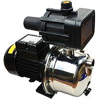 BACOENG Hauswasserwerk mit Druckschalter, Trockenlaufschutz, Edelstahl, 3500L/H, 4.55 bar