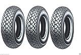 3 Michelin Reifen S83 3.50 10 59J TL Piaggio Ape 50