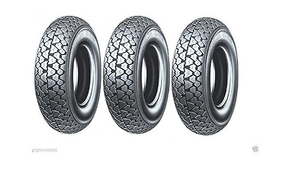 Drei Reifen Michelin S83 3 50 10 59j Tl Piaggio Vespa Px 125 150 200 Auto