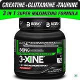 BEING NUTRITIONS Creatine, Glutamine and Taurine (CGT) - 3-XINE (400g)