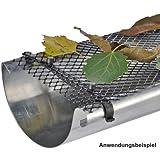 Protector de desagües, tuberías rejilla protectora 6 metros de largo y 16 cm de ancho