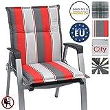 Beautissu Niedriglehner Auflage für Gartenstuhl Loft NL Havana 100x50x6 Bequemes Sitzkissen Polsterauflage UV-Lichtecht