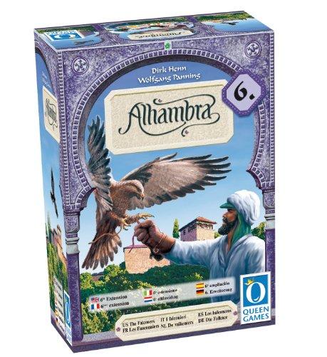 Preisvergleich Produktbild Queen Games 10012 - Der Palast von Alhambra - 6. Erweiterung: Die Falkner
