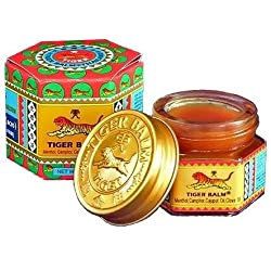 The Worldwide Mint Bálsamo de Tigre Rojo, 3 pack