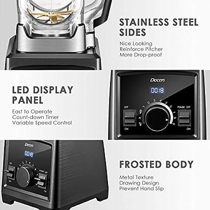 Mixer-Smoothie-Maker-Decen-2000W-Standmixer-32000-Umin-Smoothie-Blender-2L-Tritan-Behlter-ohne-BPA-Multifunktion-Smoothiemaker-3-Programme-9-Geschwindigkeiten-Selbstreinigung-und-LED-Anzeige