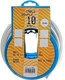 Profiplast PRP513021 Couronne de câble 10 m ho5vvf 3 g 1,5 mm Blanc