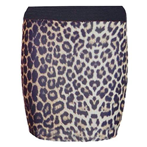 Other Damen Etui Rock Braun Leopard