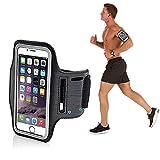 Techonto Armband, Sports Armband, Sports Arm Belt with Adjustable Workout Band for Gym