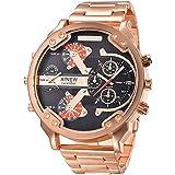 Clearance Sale! YANG-YI Men's Fashion Luxury Watch Stainless Steel Sport Analog Quartz Mens Wristwatch