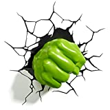 Marvel Hulk Fist 3D Wall Light