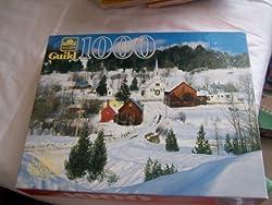 Village in Winter 1000 Piece Puzzle