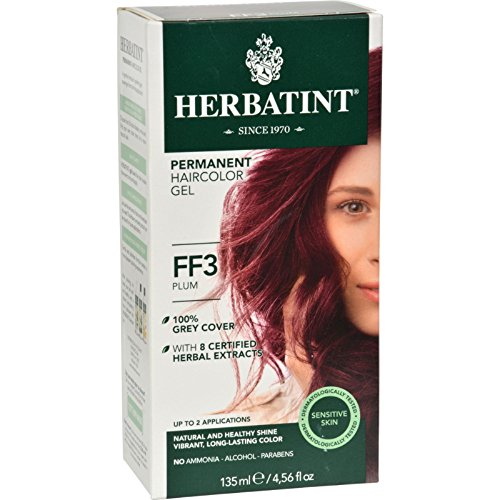 Herbatint Haircolor Kit Flash Fashion Plum FF3 - 1 Kit - Pack of 1 by Herbatint