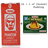 #10: Harnik Phantom Sweet Cigarette Candy (Pack of 24) +1 Pkt Caramel Pudding Mix