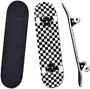 """YUDOXN Completo Skateboard per Principianti, Bambini, Giovani e Adulti. skateboard adulto. 31 """"x 8"""""""