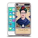 Head Case Designs Offizielle Frida Kahlo Blau Portrait Soft Gel Hülle für Apple iPod Touch 6G 6th Gen