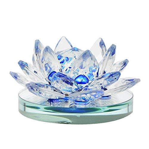 Preisvergleich Produktbild zyhw Auto Lufterfrischer Parfum Block Boden Kristall Lotus Duft Halterung Ornament für Auto Home