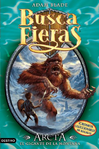 Portada del libro Arcta, el Gigante de la montaña: Buscafieras 3