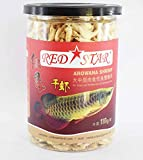 #5: ColourfulShop® - Red Star Shrimp Feed Freeze Dried 110gm High Protein for FlowerHorn and Arowana