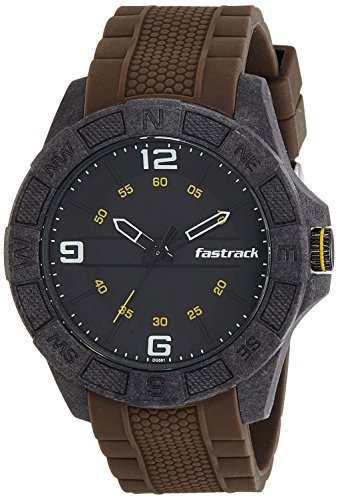 Fastrack Analog Black Dial Men's Watch