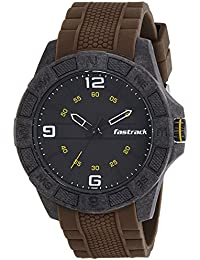 Fastrack Analog Black Dial Men's Watch-NK38032PP03