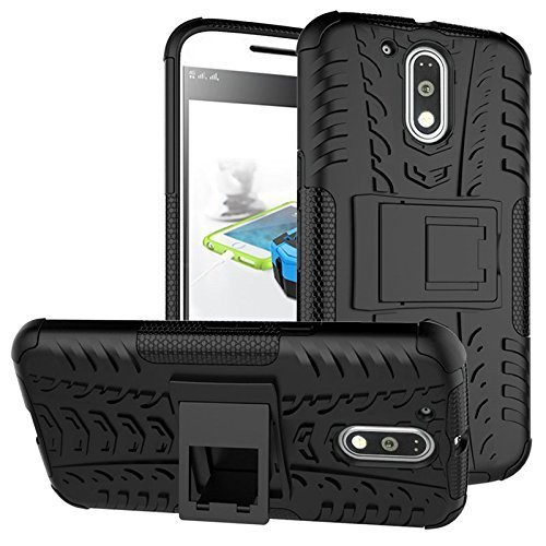 ImagineDesign-Defender-Tough-Hybrid-Armour-Shockproof-Hard-PC-TPU-with-Kick-Stand-Rugged-Back-Case-Cover-for-Moto-G-Plus-4th-Gen-G4-Plus-G-4th-Generation