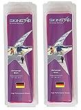 SkinStar Universal Ski/Snowboard Wachs/Wax Tafel Pink -500g