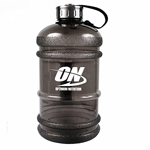Optimum Nutrition Water Bottles With Stainless Steel Cover Large Capacity Handle Portable...