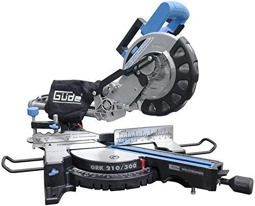 Güde 55006 Radialkappsäge GRK 210/300 Set 1900 W, 230 V, Blau