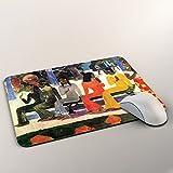 Gauguin - Ta Matete, Mousepad Anti Rutsch Unterseite für Optimalen Halt Kompatibel mit allen Maustypen (Kugel, Optisch, Laser) Ideal für Gamer und für Grafikdesigner. Test