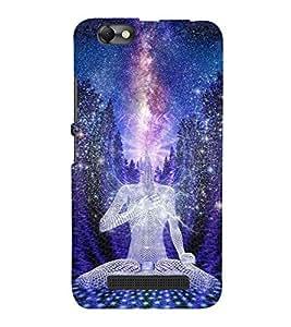 Takkloo Mahatma budha ( God of Hindu, meditation, Divine of god, Enlighting the Divine god) Printed Designer Back Case Cover for Lenovo Vibe C :: Lenovo A2020
