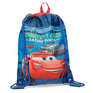 Disney Racing Series Mochila Infantil, 40 cm, 0.6 litros, Azul