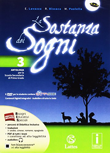 La sotanza dei sogni. Per la Scuola media. Con DVD. Con e-book. Con espansione online: 3