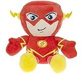 """DC COMICS - Peluche del personaje """"The Flash"""" el héroe de la película, dibujos y cómics """"THE FLASH"""" (sentado 23cm) - Calidad super soft"""