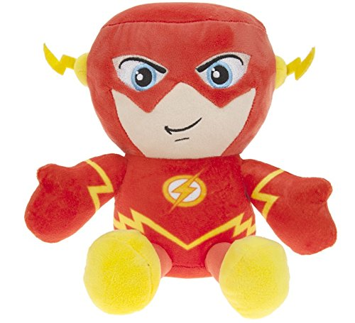 "DC COMICS - Plush Toy character ""The Flash"" of the movie and TV cartoons ""THE FLASH""(sitting 9""/23cm) - Qualità super soft"