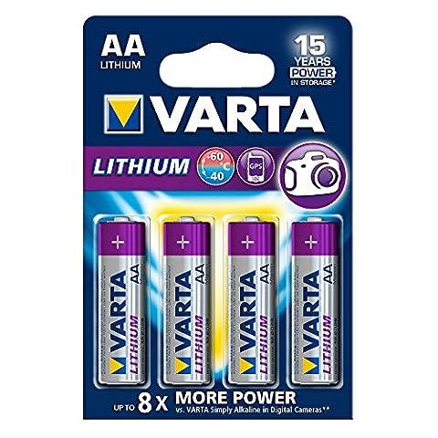 Piles Lithium Aaa - Varta Lithium pile AA (4-er