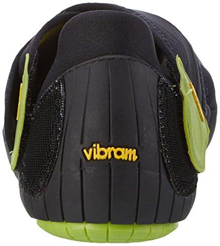 Vibram Fivefingers Furoshiki Shoe, Stivali Unisex – Adulto Nero (Black)