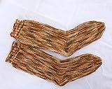 handgestrickte Socken, Gr. 36-38, quergestrickt, außergewöhnliche verrückte Socken, Baumwollsocken