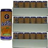 Ayfit IceTea Peach ' Eistee Pfirsich' erfrischend & fruchtig, Molkegetränk, 72x 330 ml