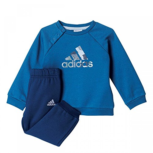 adidas Baby Trainingsanzug Sports Logo Jogger core blue s17/easy blue s17 104