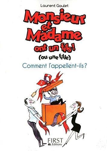Petit livre de - Monsieur et Madame
