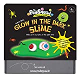 #9: The Glow In The Dark Slime- Make two amazing blobs of glow in the dark slime. Create your own gooey, slimey horror show by adding monster eyes and creepy crawlies. (Science/ Slime Activity Box- Chemistry- 6 years and above)