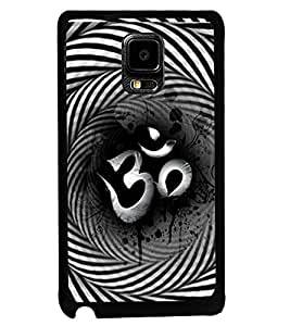 PRINTSWAG OM Designer Back Cover Case for SAMSUNG GALAXY NOTE EDGE