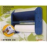 Film et laser Xyron 510, résidus