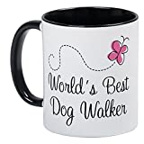 CafePress - Dog Walker (World's Best) Mug - Unique Coffee Mug, Coffee Cup