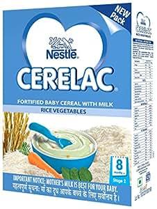 Nestlé CERELAC Infant Cereal Stage-2 (8 Months-24 Months) Rice Vegetables 300g
