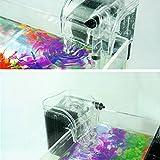 leskyram (TM) Pompe à oxygène externe Filtre Cascade pour poissons Tortue Réservoir Aquarium Aquarium accessoires Pompes 220–240V