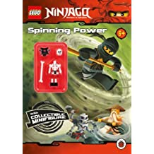 LEGO Ninjago: Spinning Power Activity Book with Minifigure by Unknown (2000-08-02)