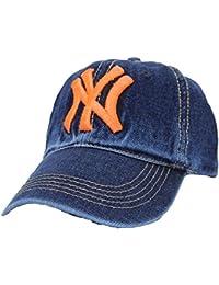 0095ad71cae BEZZARE Denim NY hat Spring summer bone trucker Baseball Cap Men Sport Hats  gorras planas snapback