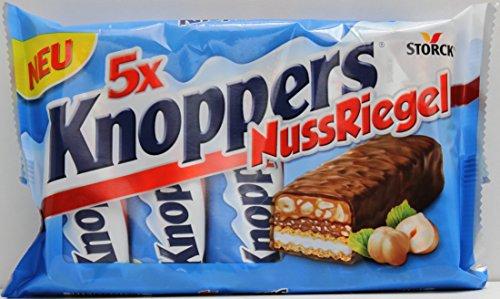 Preisvergleich Produktbild Knoppers Nuss-Riegel 5er Mulitpack,  1er Pack (1 x 200g)