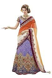 Mahotsav Womens Art Silk, Satin , Net Art Silk , Satin Lehenga Choli ( 6428 )